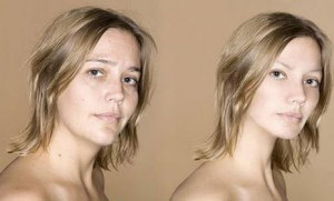 Antes y despues photoshop
