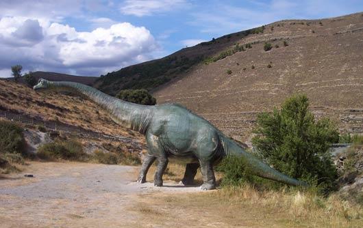 Rutas de dinosaurios