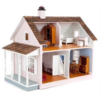 C mo construir una casa de mu ecas saberia - Casas miniaturas para construir ...