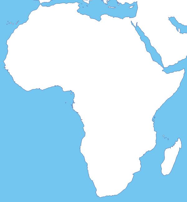 Mapas de Africa - Saberia