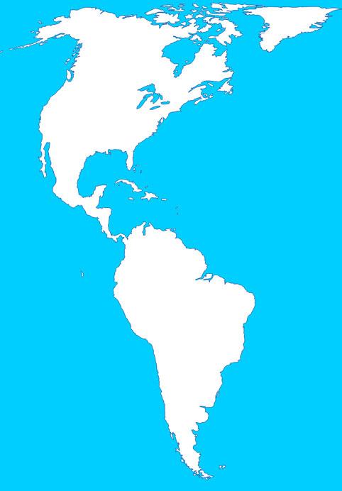 Mapas de América - Saberia