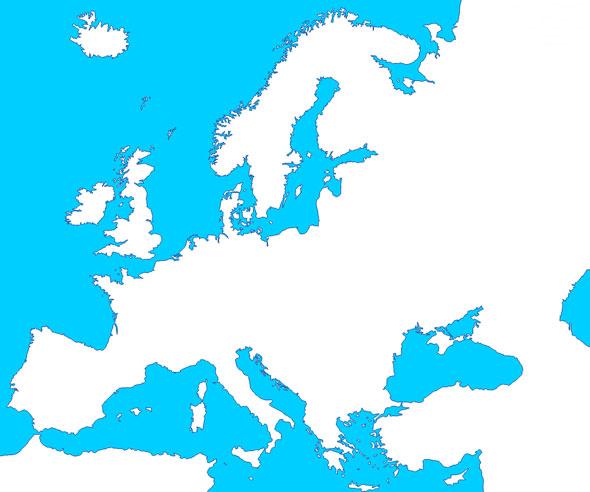 Mapas de Europa - Saberia