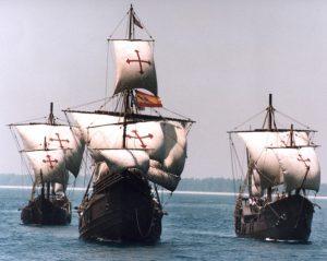 Las 3 naves de Cristobal Colón