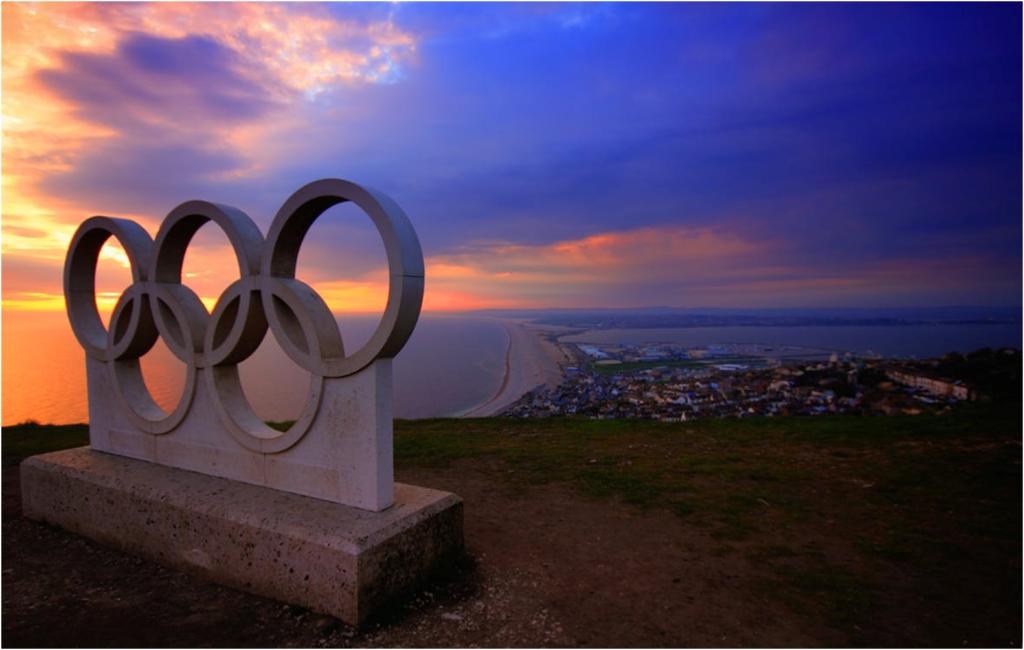 estatua juegos olímpicos