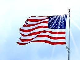 bandera de Estados Unidos del revés